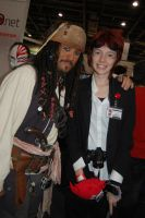 Reno meets cap. Jack Sparrow by Natini
