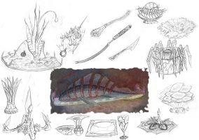 Drow Food Concept by Ultyzarus