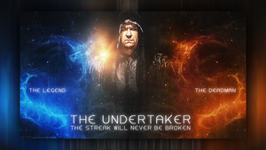 WWE WALLPAPER THE STREAK! by T1beeties