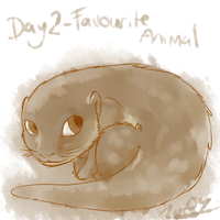 30 Day Drawing Challenge - Favourite Animal by Electrical-Socket