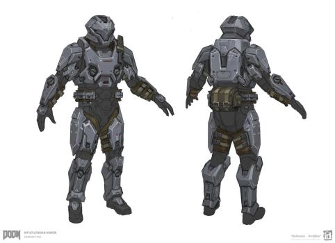 DOOM - MP Utilitarian Set 3 by emersontung
