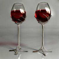 Wineglass design by Hankins