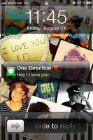 Hey ! I love you ~ 1D by CowQueenofAmerica