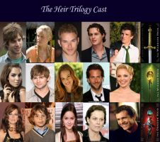 Heir Trilogy Cast by musicgirly9060