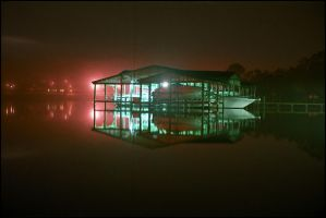 boathouse by dominussum