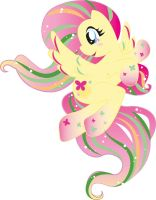 Rainbow Fluttershy by Chii---Chan