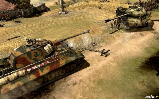 Kingtiger vs IS-3 - The Eastern Front by rainamechan