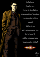 The Tenth Doctor - colour by The-13th-Doctor
