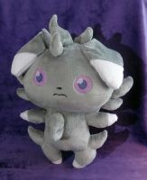 Life-Sized Espurr Plush :Commission: by AppleDew