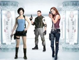 Resident evil movie wallpaper5 by ethaclane
