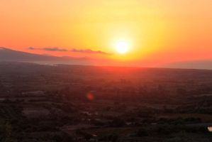 Sunset over Sardegna 2 by jochniew
