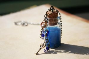 Tardis Huon Energy Bottle by KouranKiyo