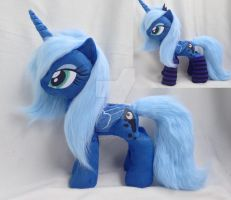 Talking  Luna 20 inch plush in socks by Epicrainbowcrafts