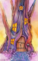 Tree House by TrollGirl
