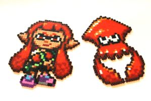 You're a Kid! You're a Squid! - Splatoon Sprites by Retr8bit