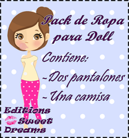 Ropa para dolls by EditionsSweetDreams