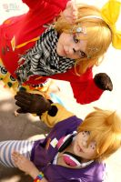 Rin and Len - Matryoska - I by JessicaUshiromiyaSan