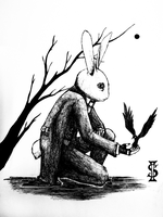The Rabbit by FrozenSwallowBird