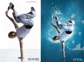 blue break dance before after by johngiannis27