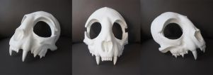 Cat Skull Mask - blank by Bueshang