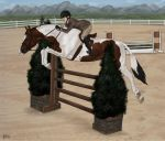Paradise Circus Working Hunter by cobra-farms