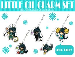 Little Gil Charm Set by kittykatkanie