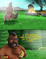 Clash of Clans - Hog Rider by Atteez