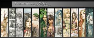 Art Summary 2013 by SerenaVerdeArt