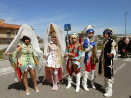 Trinity Blood group by KillerGio