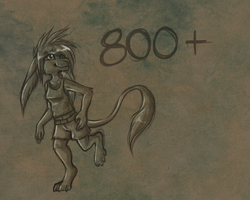Thanks for 800+! by Griwi