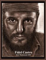 Fidel Castro by cokeglass