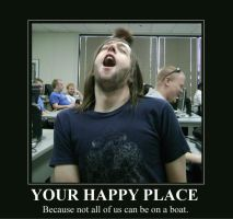 Happy Place Demotivational by Coleslayer