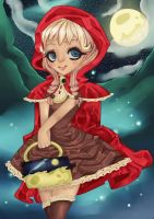 Red Riding Hood by BubblyBlu
