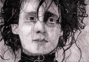 Sexy Edward Scissorhands by Porshey