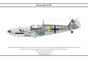 Bf 109 E-1 JG52 1 by WS-Clave