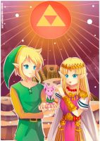 -- Zelda : A Link to the Past -- by Kurama-chan