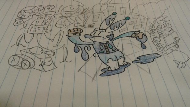 Doodle vs Machines by PocketPin