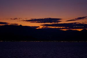 sunset by pLateauce