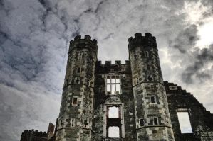 Stormy Abandoned Castle by lorni3