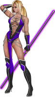 Nina Williams in Jade's outfit by SpyrousSeraphim