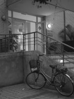 Bike beside the stairs-1 by cathyss02