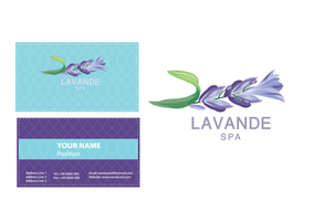 Spa Logotype lavender by razangraphics