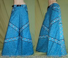 Blue-Hello-Kitty-Phat-Rave-Pants by RedheadThePirate