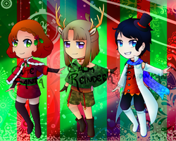 [Adopts] Christmas 1-3 - 3/3 OPEN (UPDATE) by chemicaRouge