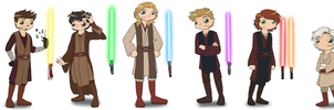 Avengers Star Wars AU by ArcherVale