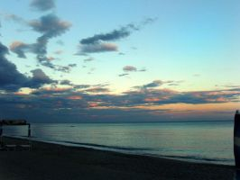 Sunset in Varazze by PsikoPower
