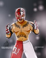 Rey Misterio Junior by monoguru