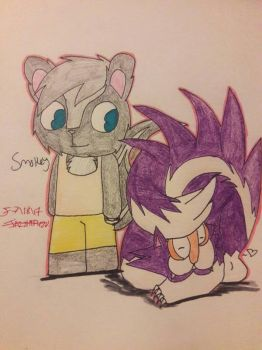 Smokey and Skunktank -RQ- by JazzHtf420