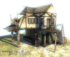 damage house 1 by LordSilmi