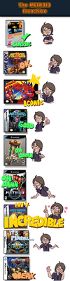 My Relationship with The METROID Franchise by MedriFogmatio
